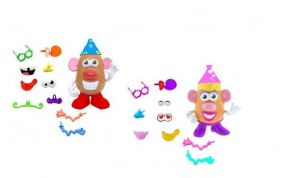PLAYSKOOL MR. POTATO BIRTHDAY PARTY