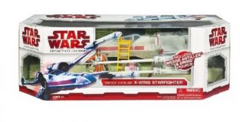 STARWARS 3.75'' X-WING RED & 2 FIGURES