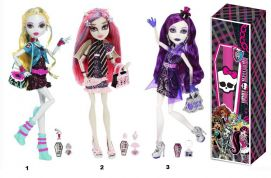 ��������������� ������� MONSTER HIGH BBC09 �������� ���������� (3 ������)