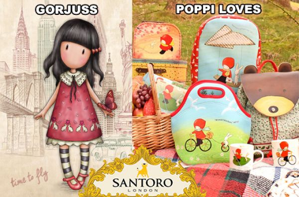 SANTORO GORJUSS & POPPI LOVES