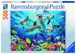 RAVENSBURGER ΠΑΖΛ 500 τεμ. DOLPHINS