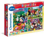 CLEMENTONI ���� 3X48 DISNEY MICKEY MOUSE CLUB HOUSE