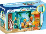 PLAYMOBIL CITY LIFE PLAY BOX SURF SHOP