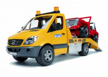bruder road assistance mercedes with jeep 278502 perfect toys. Cars Review. Best American Auto & Cars Review