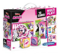 ΠΑΖΛ CLEMENTONI 12 ΚΥΒΟΙ MULTIPLAY DISNEY MINNIE
