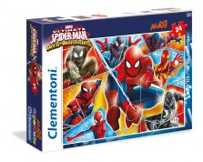 CLEMENTONI ΠΑΖΛ 24 MAXI SUPER COLOR MARVEL SPIDERMAN WEB WARRIORS