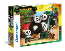 CLEMENTONI ΠΑΖΛ 24 MAXI SUPER COLOR KUNG FU PANDA