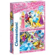 CLEMENTONI ΠΑΖΛ 2X20 SUPER COLOR PRINCESS