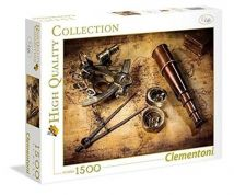 CLEMENTONI ΠΑΖΛ 1500 τεμ. HIGH QUALITY COLLECTION COURSE TO THE TREASURE