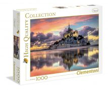 CLEMENTONI ΠΑΖΛ 1000 τεμ. HIGH QUALITY COLLECTION LE MAGNIFIQUE MONT-SAIN MICHEL