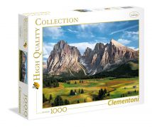 CLEMENTONI ΠΑΖΛ 1000 τεμ. HIGH QUALITY COLLECTION THE CORONATION OF THE ALPS