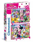 CLEMENTONI ΠΑΖΛ 2X20 τεμ. S.C. MINNIE HAPPY HELPER