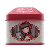 GORJUSS SANTORO STICKER ROLLS ΣΕ ΜΕΤΑΛΛΙΚΟ ΚΟΥΤΑΚΙ LITTLE RED RIDING HOOD