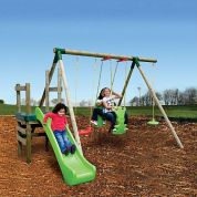 ΚΟΥΝΙΑ - ΤΣΟΥΛΗΘΡΑ LITTLE TIKES STRASBURG SWING & SLIDE SYSTEM