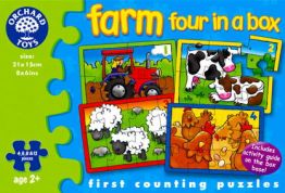 ORCHARD ΠΑΖΛ ΒΕΒΕ FARM FOUR IN A BOX