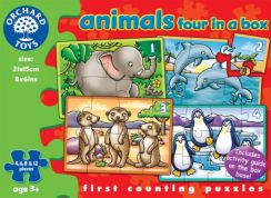 ΠΑΖΛ ORCHARD ANIMALS FOUR IN A BOX