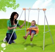 SMOBY ΠΑΙΔΙΚΗ ΚΟΥΝΙΑ SWINGSET METAL BABY SWING H120cm