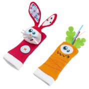 BABYMOOV A106005 FOOT FINDERS RABBIT - CARROT