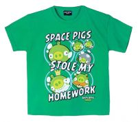 T-SHIRT ANGRY BIRDS SPACE PIGS