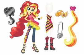 MY LITTLE PONY EQUESTRIA GIRLS WITH FASHIONS