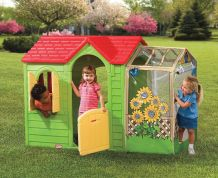 LITTLE TIKES ΣΠΙΤΑΚΙ ΚΗΠΟΥ GARDEN COTTAGE GREEN