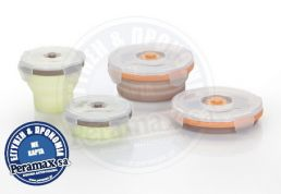 BABYMOOV SILICONE CONTAINERS SET (2X240 ml & 2X400 ml)  A004403