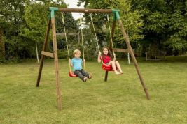 LITTLE TIKES ΚΟΥΝΙΑ ROMA DOUBLE SWING SET 170973