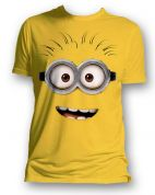T-SHIRT MINIONS ΚΙΤΡΙΝΟ - DESPICABLE ME