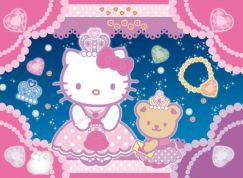 CLEMENTONI ΠΑΖΛ 104 JEWELS HELLO KITTY PRINCESS