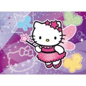 CLEMENTONI ΠΑΖΛ 104 GLITTER HELLO KITTY FAIRY
