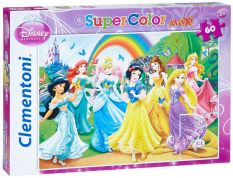 CLEMENTONI ΠΑΖΛ 60 MAXI DISNEY BUTTERFLY PRINCESS