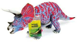 JURASSIC ACTION - TRICERATOPS