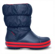 CROCS ΜΠΟΤΑΚΙΑ WINTER PUFF NAVY/RED