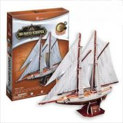 CUBICFUN 3D ���� TWO-MASTED SCHOONER