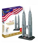CUBICFUN 3D ΠΑΖΛ PETRONAS TOWERS