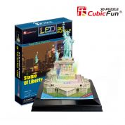 CUBICFUN 3D ���� STATUE OF LIBERTY  (LED)