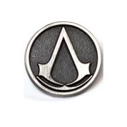 ASSASSIN'S CREED METAL ROUND PIN WITH LOGO