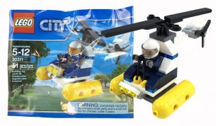 LEGO CITY SWAMP POLICE HELICOPTER