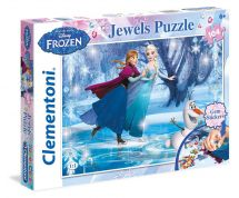 CLEMENTONI ΠΑΖΛ 104 JEWELS DISNEY FROZEN
