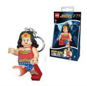 LEGO ΜΠΡΕΛΟΚ-ΦΑΚΟΣ SUPER HERO WONDERWOMAN KEY LIGHT