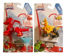TRANSFORMERS RESCUE BOTS RESCUE MINICON - 2 ΣΧΕΔΙΑ