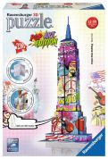 RAVENSBURGER 3D ΠΑΖΛ 216 τεμ. EMPIRE STATE BUILDING POP ART