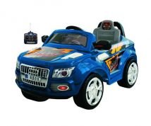 ELECTRIC CAR 6V BLUE WITH REMOTE CONTROL