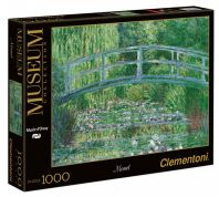 CLEMENTONI ΠΑΖΛ 1000 MUSEUM MONET ''WATER LILI BASIN, GREEN HARMONY''