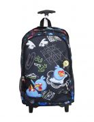 PAXOS ΠΑΙΔΙΚΟ TROLLEY ΣΑΚΙΔΙΟ ΔΙΠΛΟ ANGRY BIRDS BACK TO SCHOOL