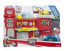 TRANSFORMERS RESCUE BOTS HEADQUARTERS