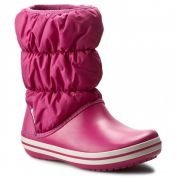 CROCS WINTER PUFF BOOT WOMEN BERRY