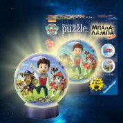 RAVENSBURGER 3D ΠΑΖΛ 72 τεμ. ΜΠΑΛΑ-ΛΑΜΠΑ PAW PATROL