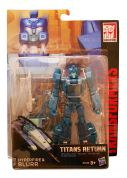 TRANSFORMERS GENERATIONS DELUXE TITAN WAR - 4 ΣΧΕΔΙΑ