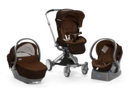 CHICCO ΣΥΣΤΗΜΑ ΜΕΤΑΚΙΝΗΣΗΣ TRIO I-MOVE TOP BROWN